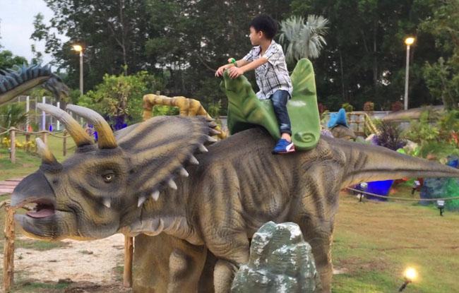 仿真恐龙骑乘-三角龙