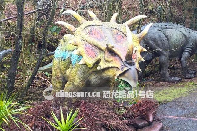 仿真戟龙-威尔士恐龙公园