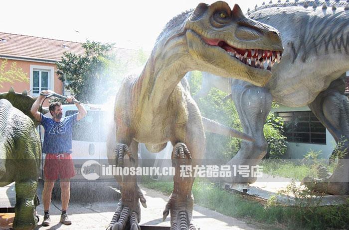 电子恐龙户外特征-防水