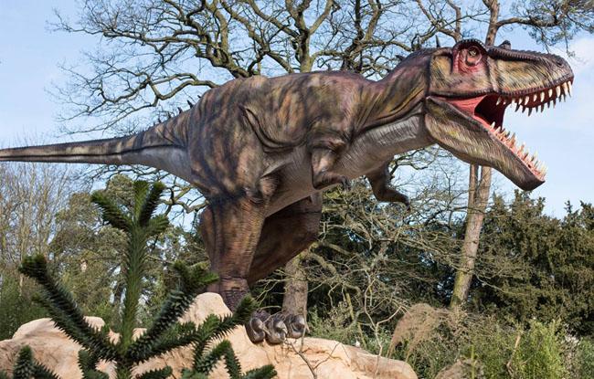 大型仿真电子恐龙-霸王龙