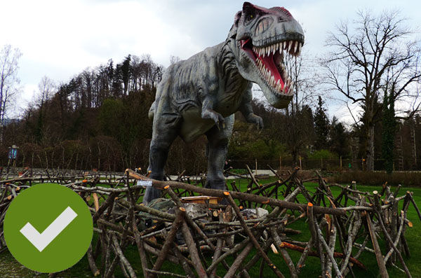 如何维护电子恐龙-木制栏杆