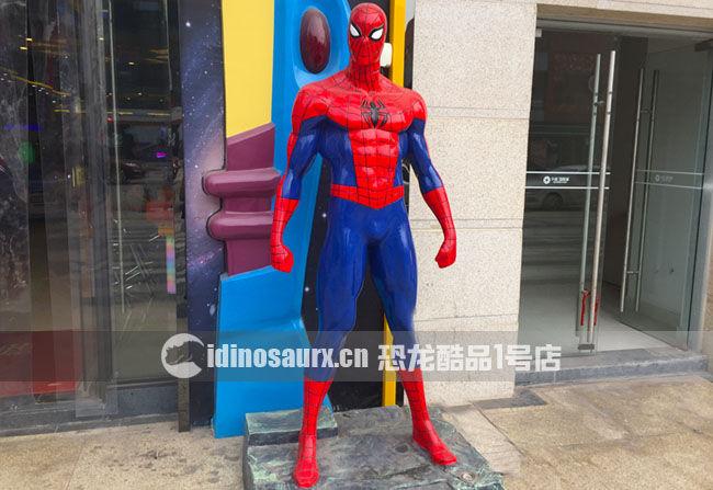 玻璃钢恐龙景观雕塑-蜘蛛侠
