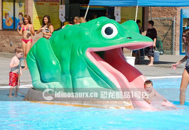 玻璃钢卡通景观雕塑-青蛙