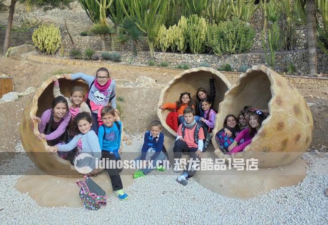玻璃钢恐龙景观雕塑-恐龙蛋壳