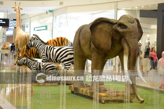 电子仿真大象-贝鲁特商场