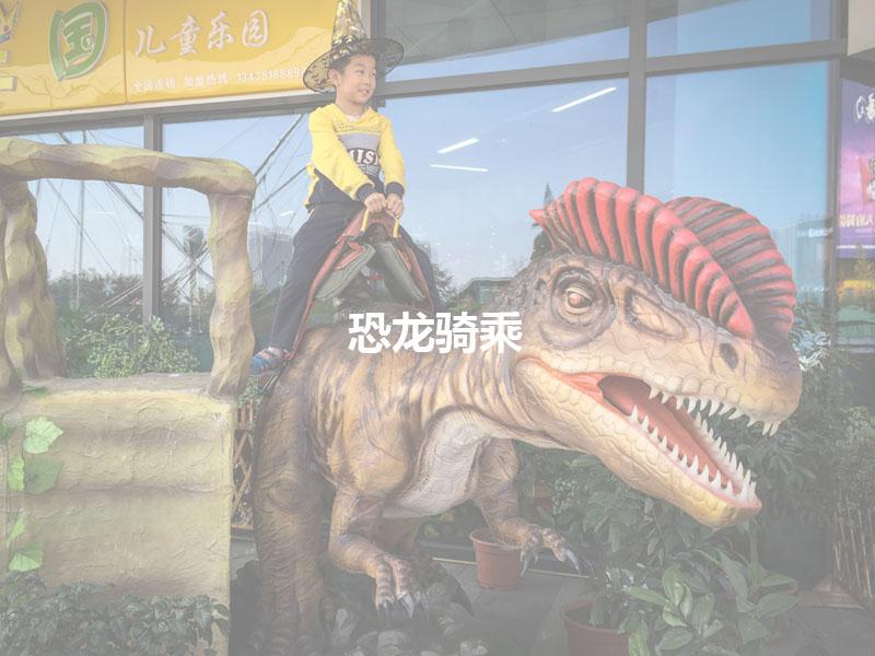 恐龙骑乘产品