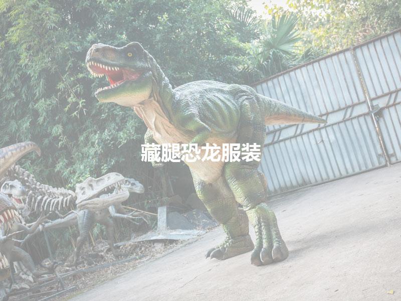 藏腿恐龙服装产品