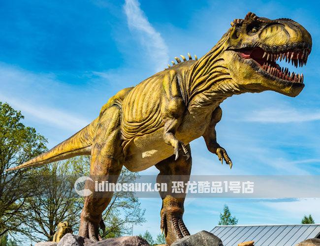 15米体长的仿真霸王龙
