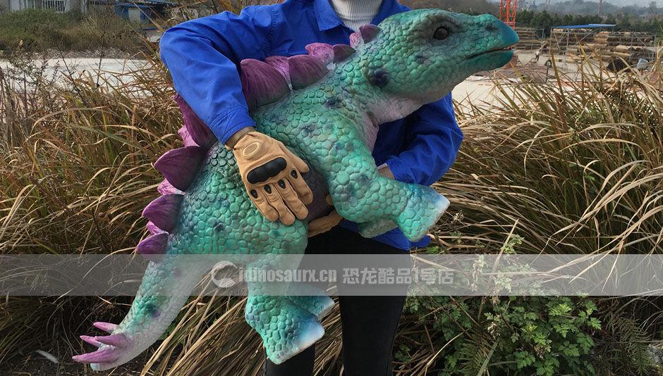 带假肢恐龙玩偶