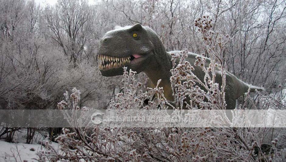 户外恐龙雕塑模型