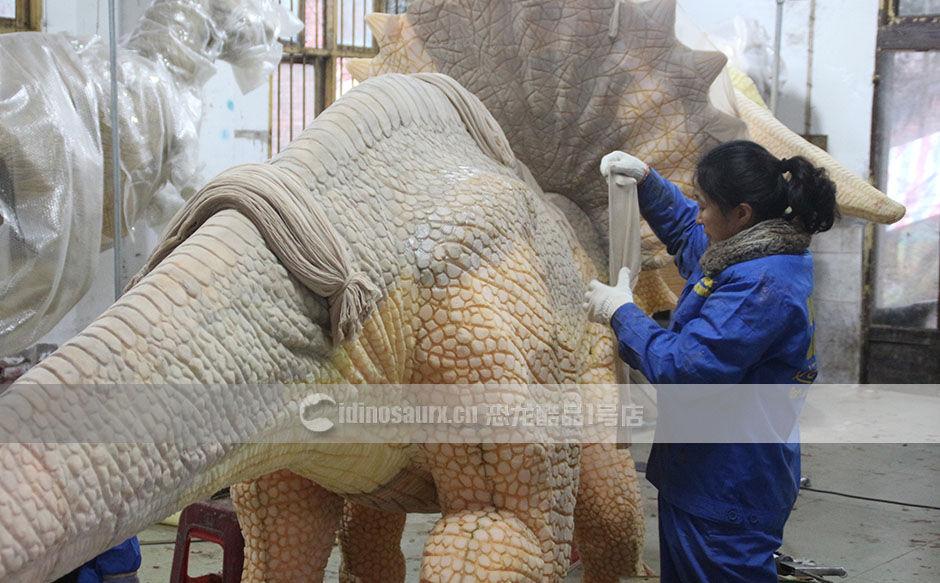 专业生产全尺寸恐龙模型