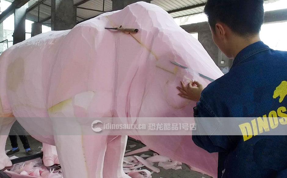 人工雕刻仿真动物
