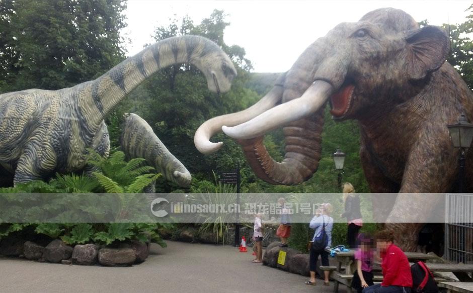 园林恐龙动物装饰产品