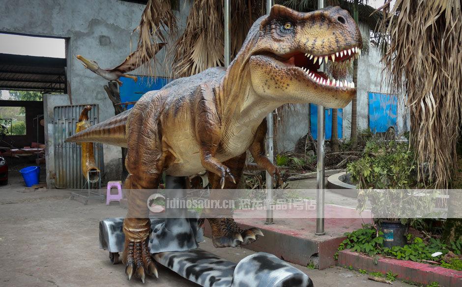 机器仿真恐龙模型