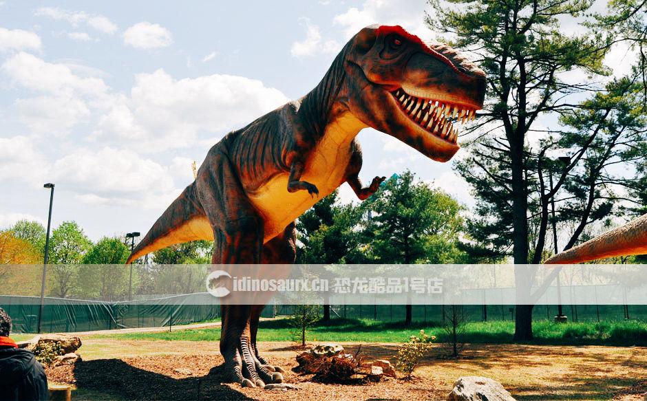 电动恐龙怪兽模型