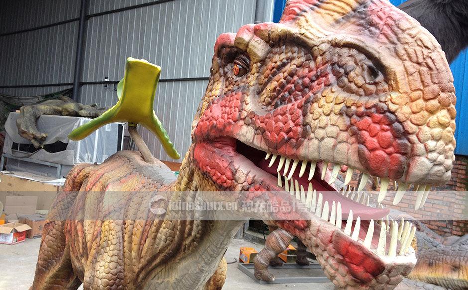 恐龙骑乘设备
