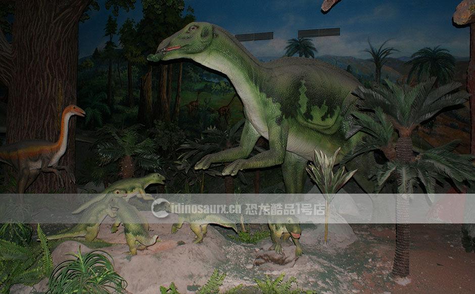 博物馆室内仿真恐龙模型