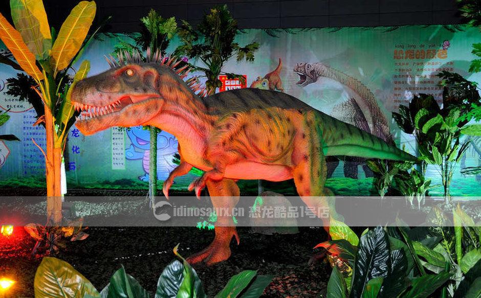 定制的灯会恐龙装饰