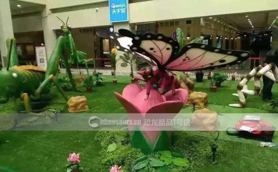 科普昆虫模型展品