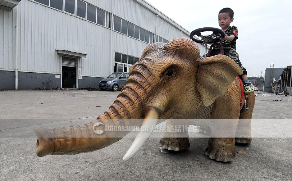 行走小象骑乘设备