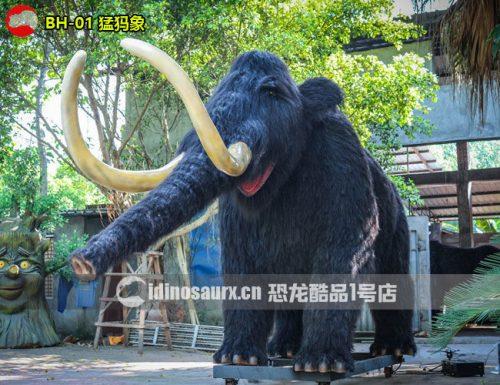 仿真冰河动物-猛犸象模型