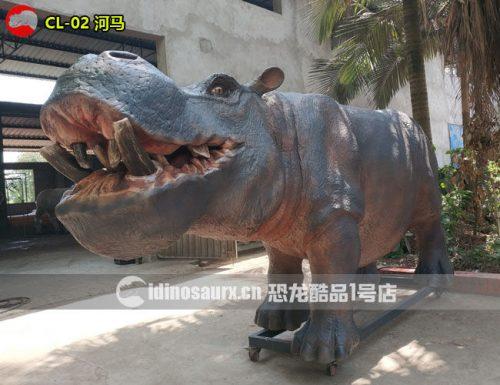 仿真河马-丛林动物模型