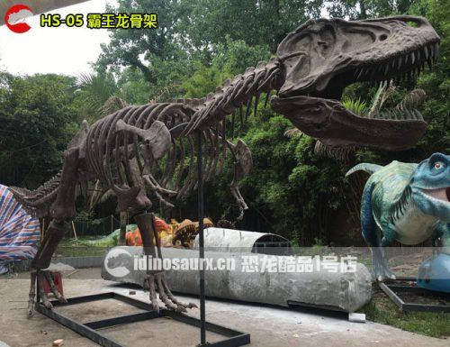 仿真霸王龙化石