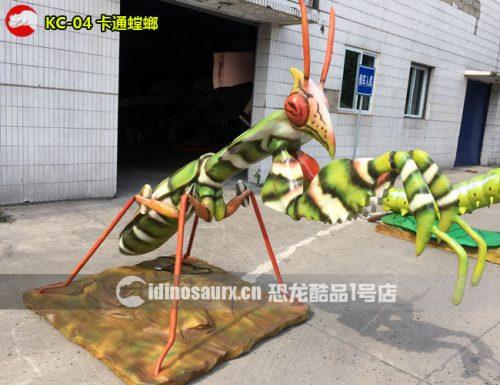 电子昆虫模型-螳螂