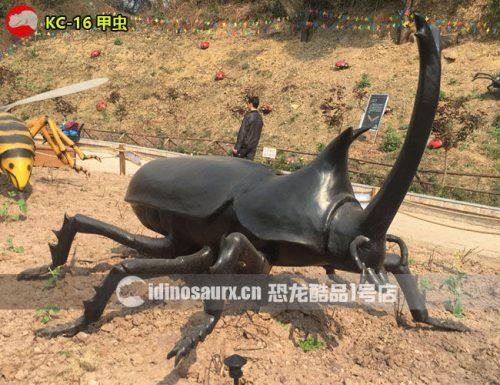 仿真巨型甲虫模型