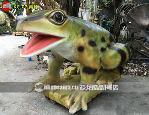 仿真青蛙模型