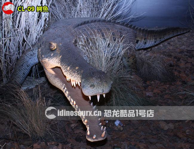 仿真鳄鱼模型