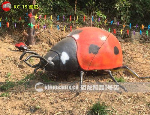电动巨型瓢虫模型