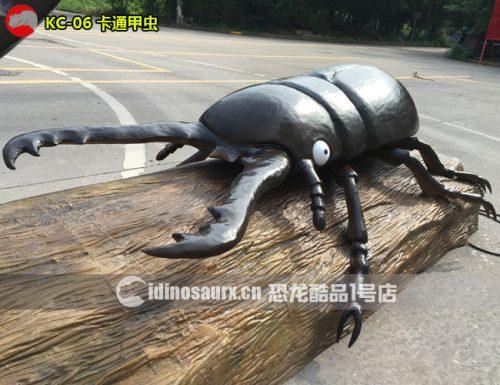 电子卡通甲虫模型