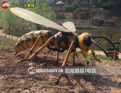 电子巨型大黄蜂模型
