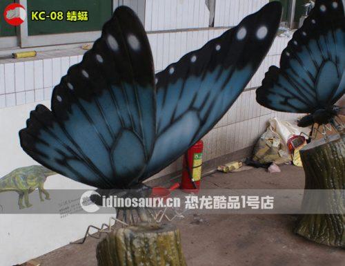 电子巨型蝴蝶模型