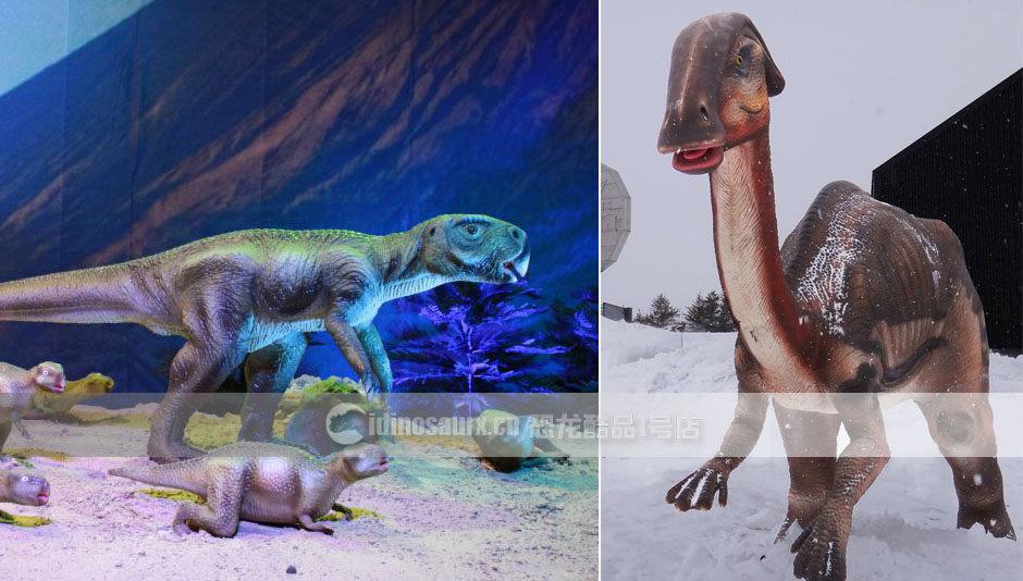 恐龙展品场景