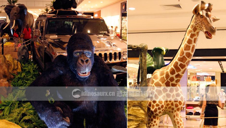 电子动物可展出在免税店