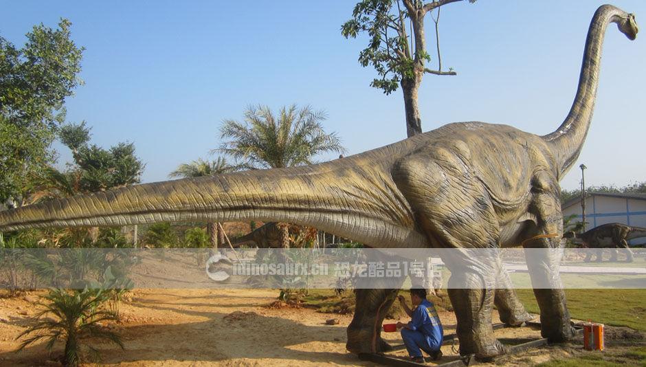 户外安装大型仿真恐龙