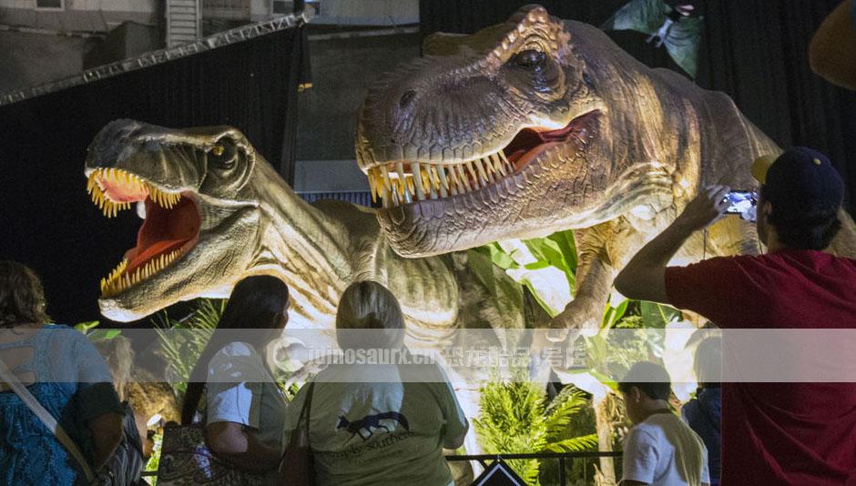 中山仿真恐龙