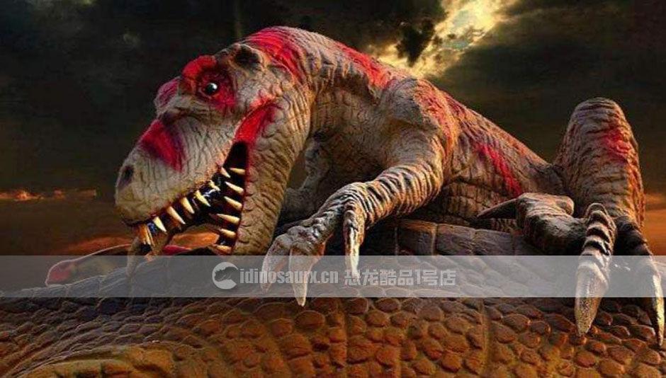 美食节恐龙主题道具