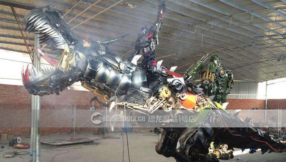 仿真机械恐龙模型
