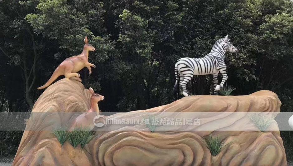 户外动物园雕塑定制