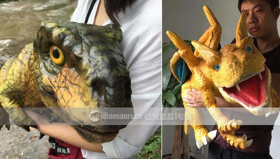 恐龙玩偶模型