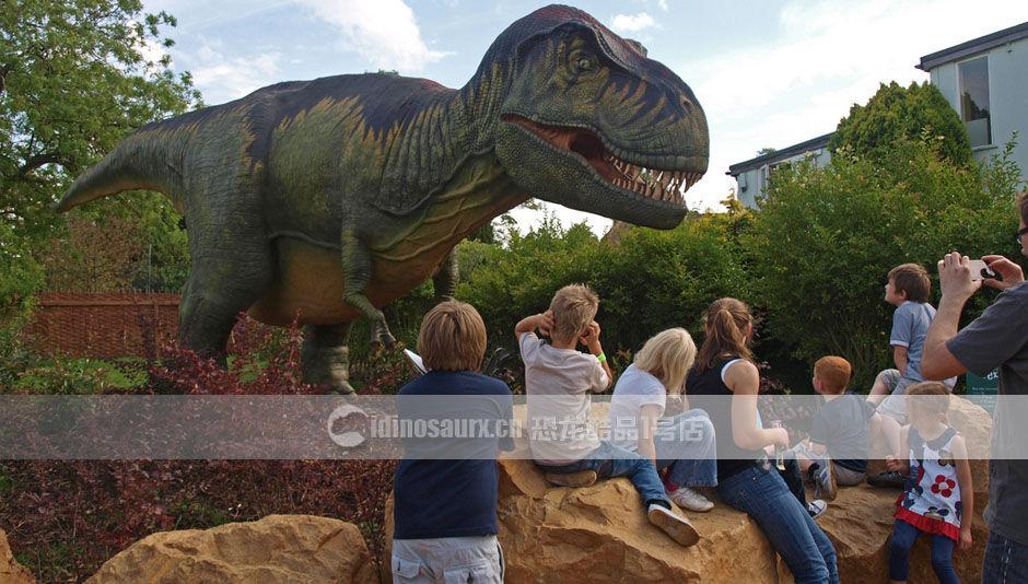 侏罗纪公园恐龙复制品