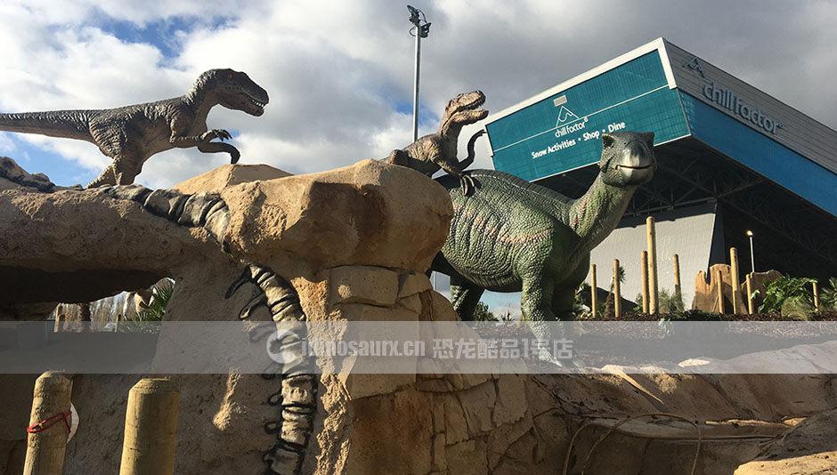 商展恐龙模型