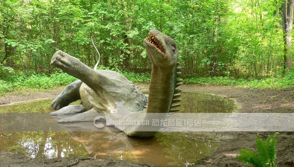 大型恐龙摆件