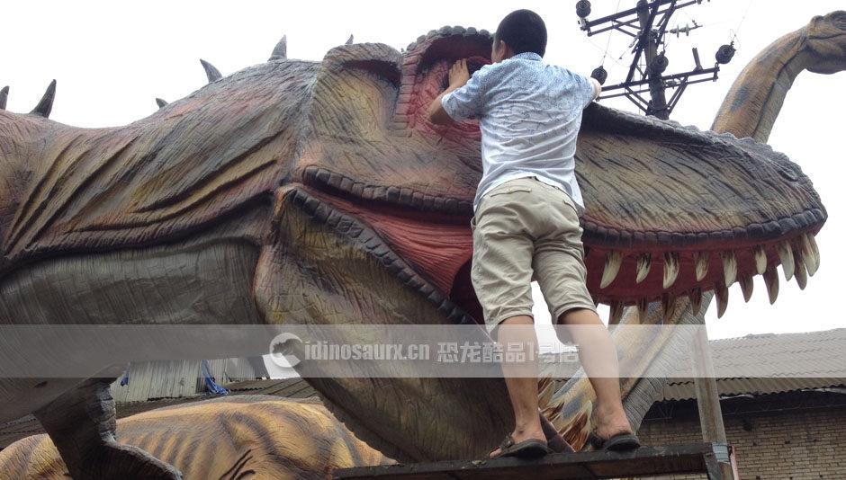 仿真恐龙模型制作商