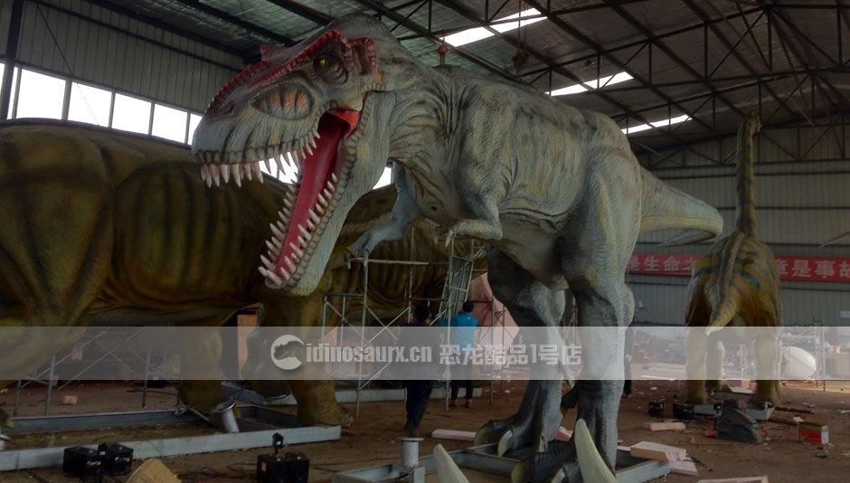 仿真恐龙模型制作工厂