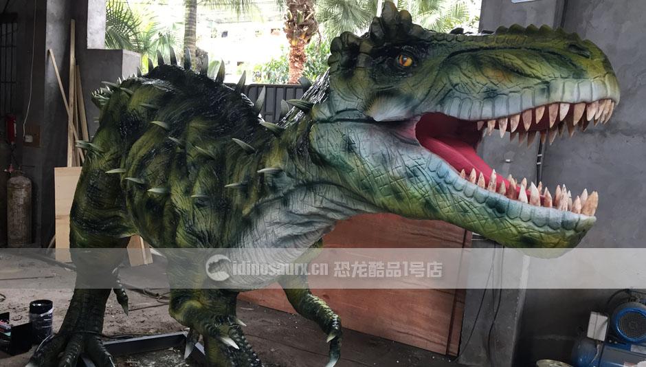 仿真机动恐龙模型