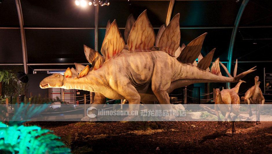 侏罗纪公园恐龙模型